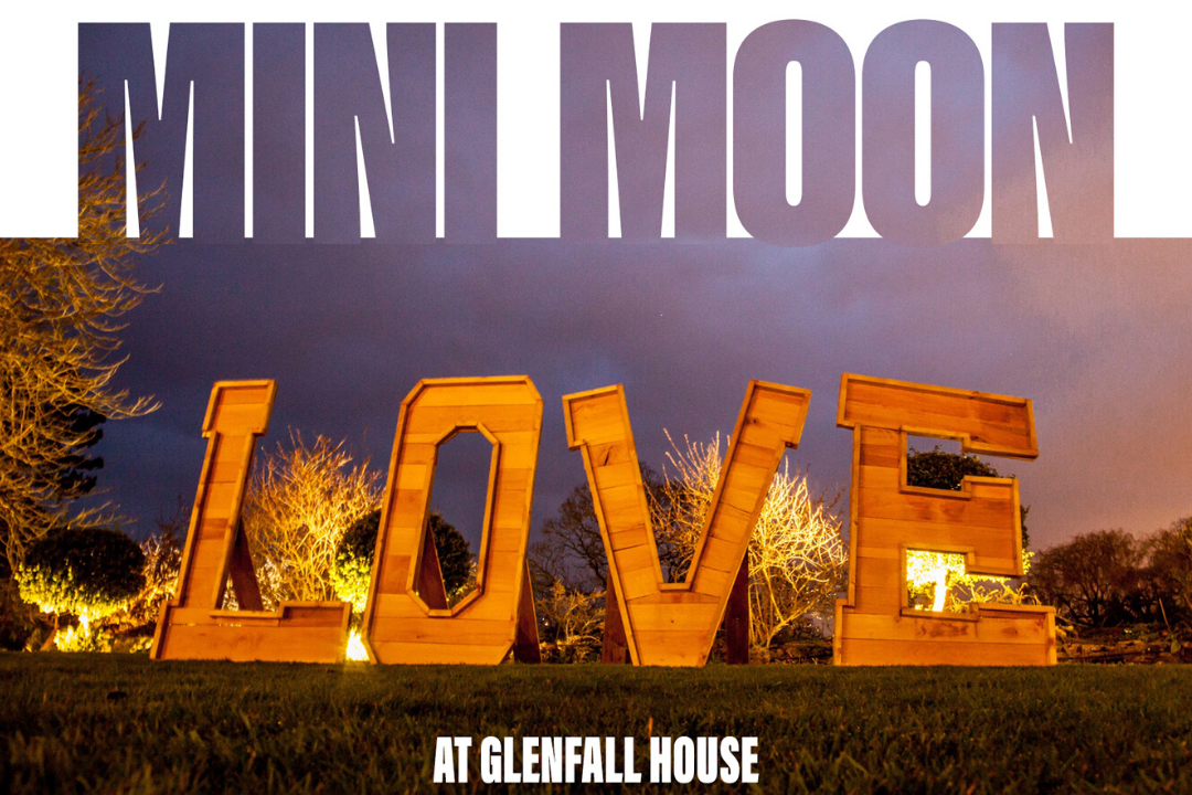 Minimoons at Glenfall House in the Cotswolds